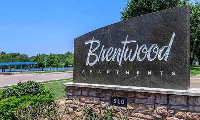 Community Signage, Brentwood Apartments, 2