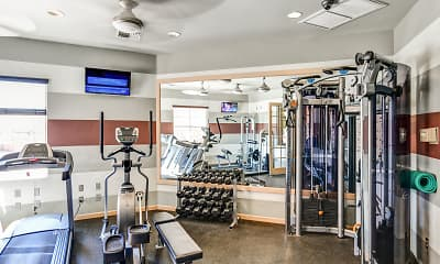 Fitness Weight Room, The View, 2