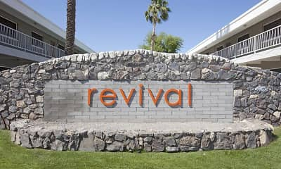 Community Signage, Revival on Indian School, 1