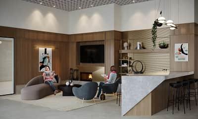 Living Room, 369 Grand, 1