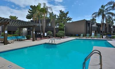 Pool, La Costa Apartment Homes at Dobson Ranch, 2