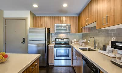 Kitchen, Harborside Marina Bay Apartments, 0