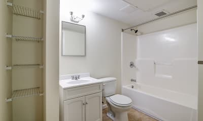 Bathroom, Redstone Apartments and Single Family Homes, 2