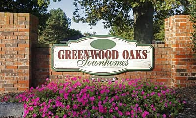 Community Signage, Greenwood Oaks, 2