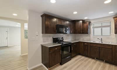 Kitchen, Lancaster Apartments, 0