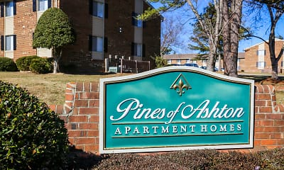 Community Signage, Pines of Ashton, 2