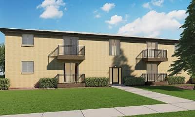 Building, Royal Hill Apartments, 2