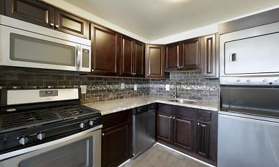 Kitchen, Seneca Bay Apartment Homes, 1