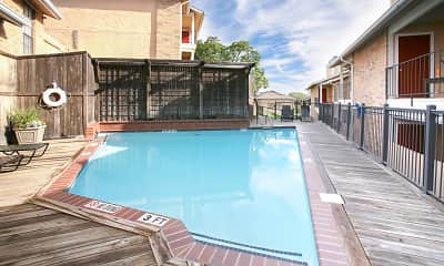 Pool, Highcrest Apartments, 1