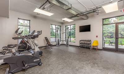 Fitness Weight Room, Mahtomedi Flats, 2