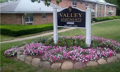 Community Signage, Valley Apartments, 0