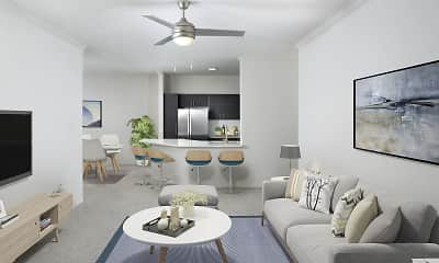 Living Room, Camden Lee Vista, 1