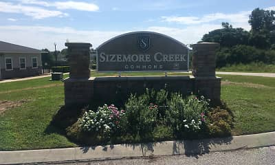 Community Signage, Sizemore Creek Commons Apartments, 1