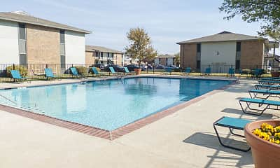 Pool, Indiana Village, 1