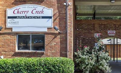 Community Signage, Cherry Creek Apartments, 2
