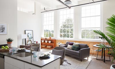 Kitchen, Billy Byrd Lofts, 1