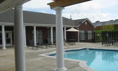 Pool, Tyler Ridge Apartments, 1
