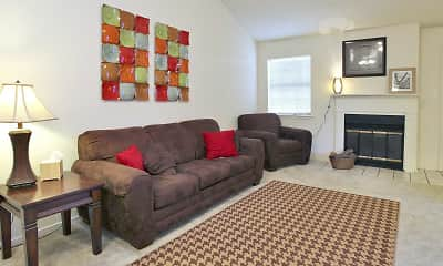 Living Room, The Arbors, 0