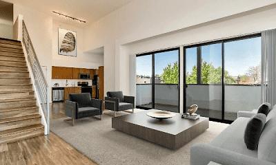 Living Room, Summit At Wash Park, 1