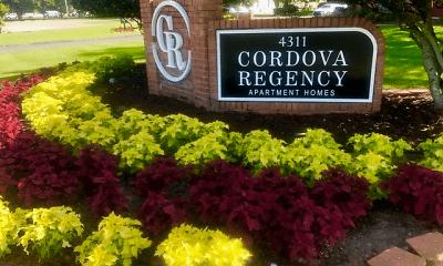 Community Signage, Cordova Regency, 2