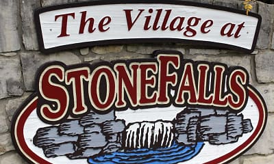Community Signage, The Village At Stone Falls, 2