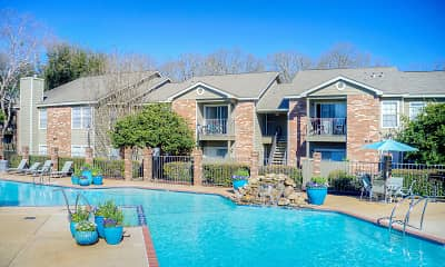 Pool, Pear Orchard Apartments, 0