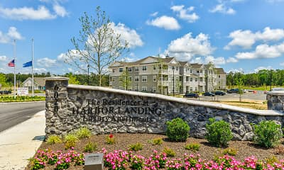 Community Signage, The Residences at Harbor Landing, 2