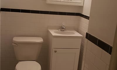 Bathroom, Colonial Village, 2