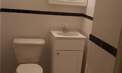 Bathroom, Colonial Village, 2