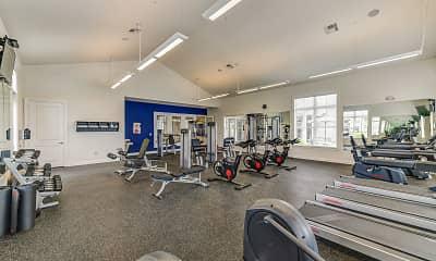 Fitness Weight Room, Orange Grand Communities, 1