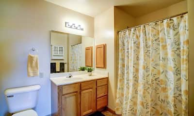 Bathroom, Sherman Glen Apartments, 2