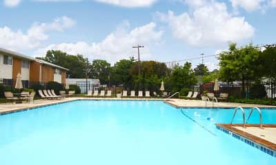 Pool, Andover Apartments, 1