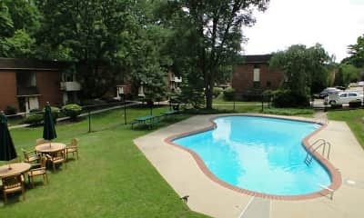 Pool, CV Apartments at Glenolden Station, 1