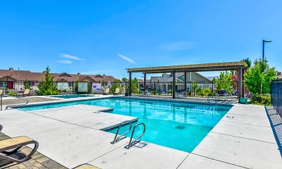 Pool, The Bungalows at Sky Vista, 2