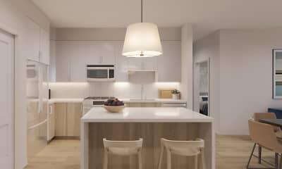 Kitchen, The Barrett, 1