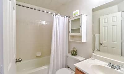 Bathroom, Regal Towers, 1