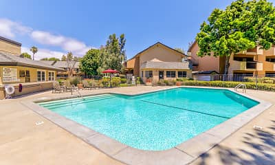 Pool, Carrington Apartments (Fremont), 1