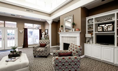 Living Room, Northridge Apartments, 1