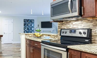 Kitchen, Centennial Apartments, 0