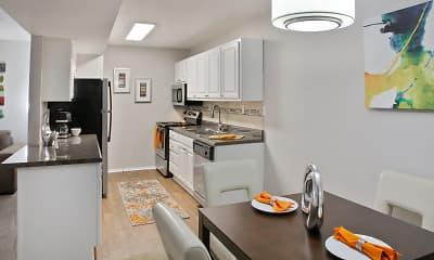 Kitchen, Crest View at Cordova, 1