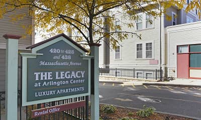 Community Signage, The Legacy At Arlington Center, 1