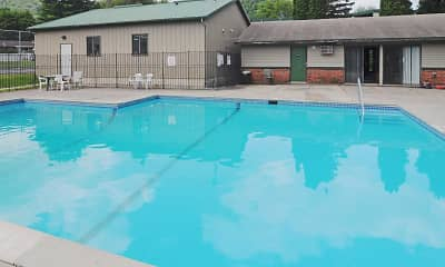 Pool, Fairway Woods Apartments, 2