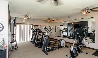 Fitness Weight Room, Creekstone Falls, 2