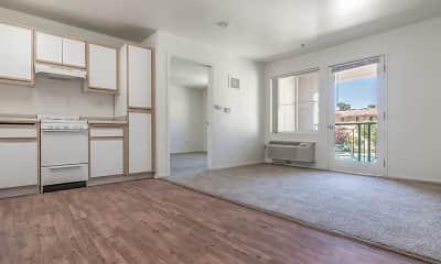 Living Room, Lancaster Village Senior Apartments, 1