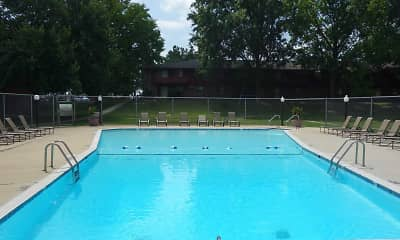 Pool, Riverwood Apartments, 1