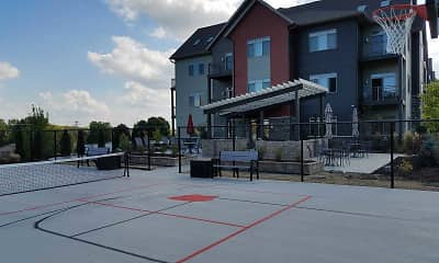 Patio / Deck, The Pointe Luxury Apartments, 2