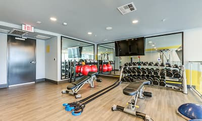 Fitness Weight Room, The Link, 1