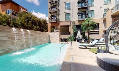 Pool, Legacy Village Apartment Homes, 2