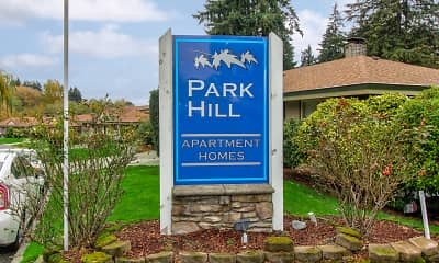 Community Signage, Greentree & Park Hill Apartments, 2