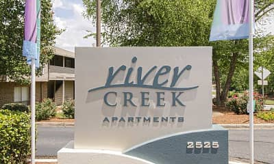 Community Signage, River Creek, 2